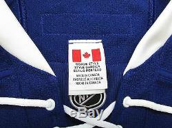 Potvin Toronto Maple Leafs Authentic Home Reebok Edge 2.0 Jersey Goalie Cut 60