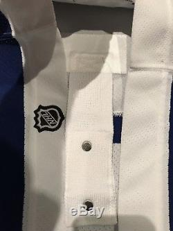 Pre-edge Reebok Toronto Maple Leafs 3rd White NHL Hockey Jersey Size 48