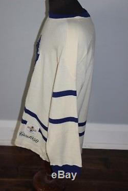 Pre-owned Mens CCM Heritage NHL Toronto Maple Leafs Jersey Circa 1950 Large XL