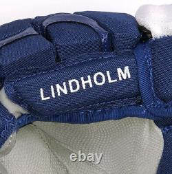 Pro Stock Pro Return 13 CCM HG12XP Gloves Toronto Maple Leafs Lindholm