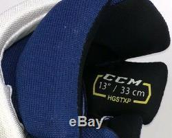 Pro Stock Pro Return 13 CCM HGSTXP Hockey Gloves Toronto Maple Leafs