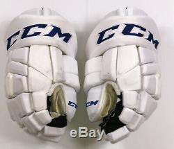 Pro Stock Pro Return 13 CCM HGTK Gloves Toronto Maple Leafs 2018 Stadium Series
