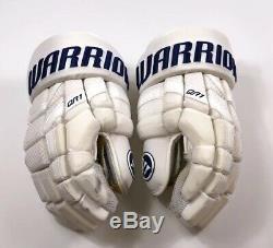Pro Stock Pro Return 14 Warrior QR1 Gloves Toronto Maple Leafs Stadium Series
