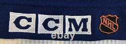 RARE Authentic 1991-92 CCM TBTC Toronto Maple Leafs Doug Gilmour Jersey Size 52