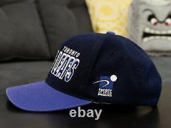 RARE Vintage Toronto Maple Leafs Sports Specialties Shadow Hockey Snapback Hat