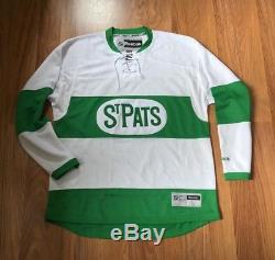 REEBOK TORONTO ST. PATS MAPLE LEAFS NHL PREMIER HOCKEY JERSEY L auston matthews