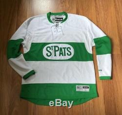 REEBOK TORONTO ST. PATS MAPLE LEAFS NHL PREMIER HOCKEY JERSEY M auston matthews