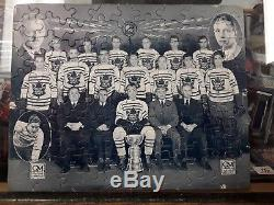 Rare GM 1931-32 Toronto MAPLE LEAFS Stanley Cup Champs PUZZLE -Complete, no glue