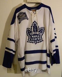 Signed Curtis Joseph CuJo Toronto Maple Leaf Gardens Last Season Jersey Home XL