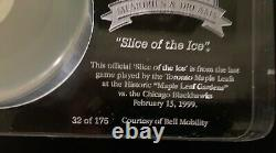 Slice of the Ice Maple Leaf Gardens Preserved Ice 32 of 175 Toronto Maple Leafs