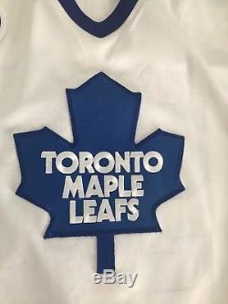 Super rare Doug Gilmour 1991-92 authentic Toronto maple leafs ultrafil jersey