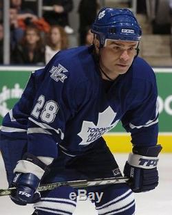 TIE DOMI sz MEDIUM Toronto Maple Leafs CCM 550 Vintage 2000-2007 Hockey Jersey