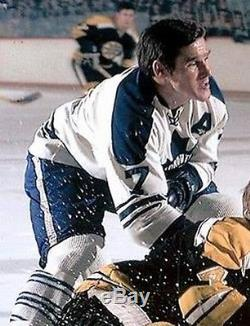 TIM HORTON Toronto Maple Leafs 1967 CCM Vintage Away NHL Hockey Jersey