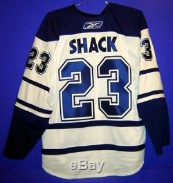 TORONTO MAPLE LEAFS EDDIE SHACK White #23 AUTHENTIC NHL Hockey Size 56 JERSEY