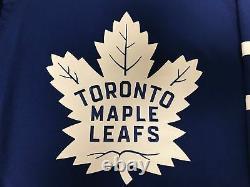TORONTO MAPLE LEAFS size 50 Medium ADIDAS NHL HOCKEY JERSEY Climalite Authentic