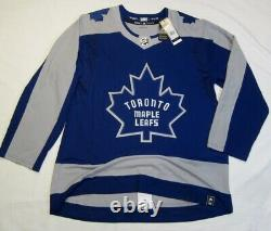 TORONTO MAPLE LEAFS size 54 = XL Reverse Retro ADIDAS authentic hockey jersey