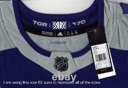 TORONTO MAPLE LEAFS size 56 = XXL Reverse Retro ADIDAS authentic hockey jersey