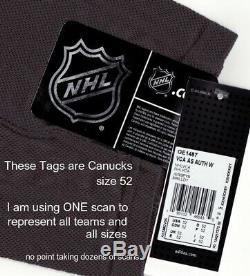 TORONTO MAPLE LEAFS size 60 = 3XL 2020 NHL ALL STAR Adidas Hockey Jersey Storm