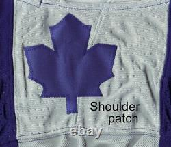 TORONTO MAPLE LEAFS size 60 = 3XL Reverse Retro ADIDAS authentic hockey jersey