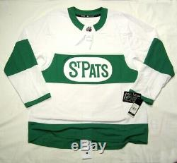 TORONTO ST. PATS size 52 = Large Adidas NHL Climalite Hockey Jersey Maple Leafs