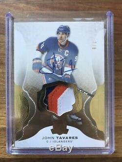 The Cup 2016 Signature Materials Gold Toronto Maples Leaf John Tavares 7/8 #63