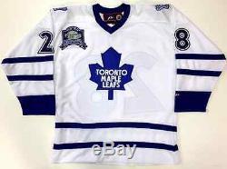 Tie Domi 1999 Toronto Maple Leafs Pro Player Replica White Jersey Size Large