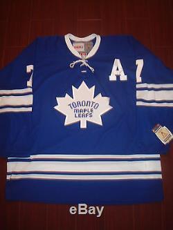 Tim Horton Toronto Maple Leafs CCM 550 1967 Vintage Style Jersey Size XL