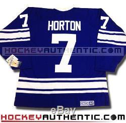 Tim Horton Toronto Maple Leafs Jersey 1967 CCM Vintage Blue