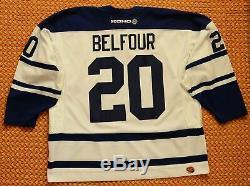 Toronto Maple Leafs, #20 Ed Belfour Vintage NHL CCM Jersey, XXL, SEWN