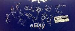 Toronto Maple Leafs 2016-17 Team Signed Rbk Premier Centennial Classic Jersey