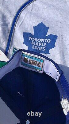Toronto Maple Leafs 90s Vintage Sports Specialities Nike Laser Snapback Rare