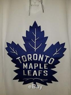 Toronto Maple Leafs ADIDAS Climalite Authentic NHL ROAD Jersey size 60 / 3XL NEW