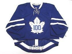 Toronto Maple Leafs Alumni Centennial Classic Reebok Edge Jersey Goalie Cut 58