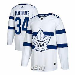 Toronto Maple Leafs Auston Matthews 2018 Stadium Series Jersey S/46