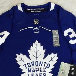 Toronto Maple Leafs Auston Matthews 34 Adidas NHL Authentic Pro Jersey Climalite