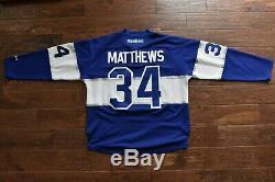 Toronto Maple Leafs Auston Matthews #34 Reebok NHL Centennial Classic Jersey L