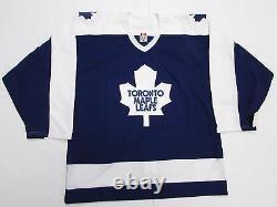 Toronto Maple Leafs Authentic 2014 Winter Classic Alumni CCM 6100 Jersey Size 52