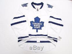 Toronto Maple Leafs Authentic Away Team Issued Reebok Edge 2.0 7287 Jersey Sz 52