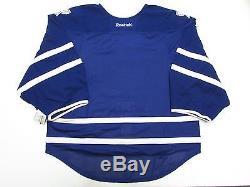 Toronto Maple Leafs Authentic Home Reebok Edge 2.0 7287 Jersey Goalie Cut 60