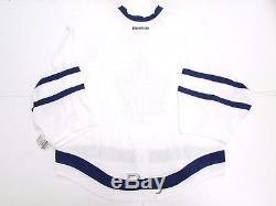 Toronto Maple Leafs Authentic New Away Reebok Edge 2.0 7287 Jersey Goalie Cut 60