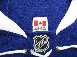 Toronto Maple Leafs Authentic Third Reebok Edge 2.0 7287 Jersey Goalie Cut 60