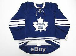 Toronto Maple Leafs Authentic Third Team Issued Reebok Edge 2.0 7287 Jersey 56