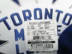 Toronto Maple Leafs Centennial Classic Reebok Edge 2.0 787 Jersey Goalie Cut 58