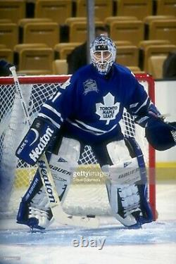 Toronto Maple Leafs Curtis Joseph Vintage NHL Hockey Jersey Goalie Pro Player