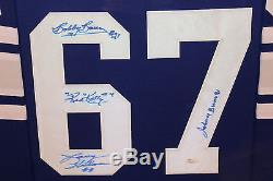 52a900c9ada Toronto Maple Leafs Framed 1967 Stanley Cup Quadruple Signed Team Jersey  Jsa Coa