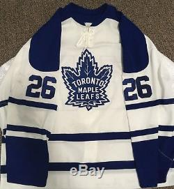 Toronto Maple Leafs Game Worn Used Jersey Paul Healey Alternate 58