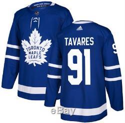 Toronto Maple Leafs John Tavares adidas Blue Authentic Player Jersey 50 Medium