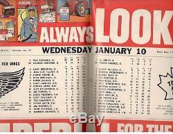 Toronto Maple Leafs Maple Leaf Gardens Hockey Magazine 1967/68 autographed