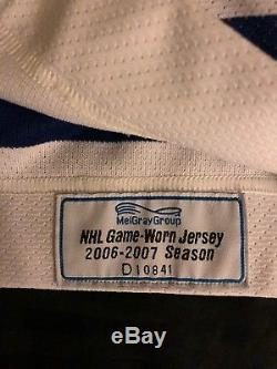Toronto Maple Leafs Michael Peca Game Issued Jersey 2006/07