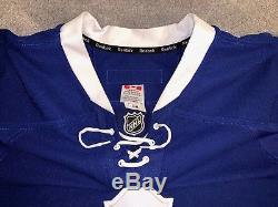 Toronto Maple Leafs Reebok Edge 2.0 Authentic Hockey Game Jersey, 58G Goalie Cut